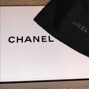 chanel box with small pouch